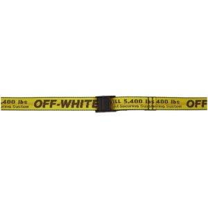 Off-WhiteYellow Mini Industrial Belt