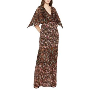 Bohemian Bandana Surplice Maxi Dress - Walmart.com