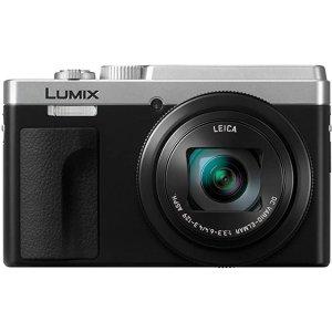 Panasonic Lumix High Zoom, 4K Video, LVF, Leica Lens Lumix Compact Travel Camera, Silver/black (DC-TZ95GN-S)