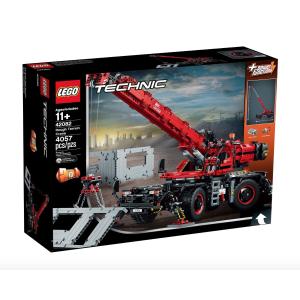 $237.99(官网$299) 快速送达独家:LEGO 科技组复杂地形起重机 乐高史上销售前15名的套装