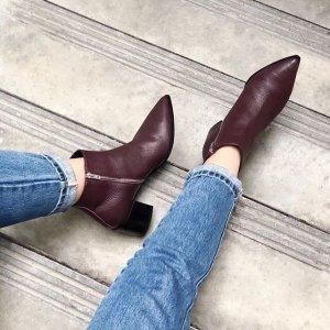 经典穆勒鞋、乐福鞋 帅气切尔西Everlane 精选短靴、平底鞋热卖 舒适简约又好穿