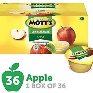 $11.98Mott's Applesauce, 4 oz cups, 36 count