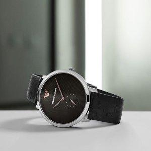线上折扣+额外82折 £108收阿玛尼手表Armani 精选手表夏日大促 你的气质都在手腕上