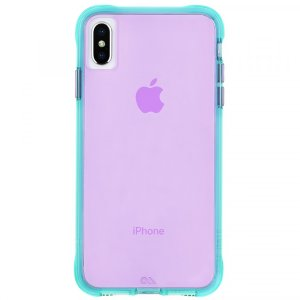Case-MateTurquoise Purple Neon iPhone Xs Max