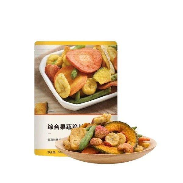 【中国直邮】综合果蔬脆 100克 (1袋装)