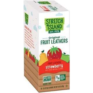 $9.50Stretch Island Original Fruit Leather, Strawberry, 0.5-Ounce Strips (Pack of 30)