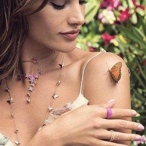 3折起 戒指耳环项链都有手慢无:Swarovski 蝴蝶系列补货热卖