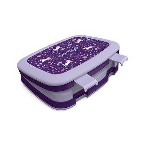 BentgoDark Purple Unicorn Kids Bento Box