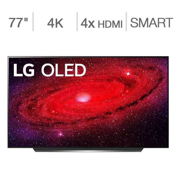 "77"" Class - CX Series - 4K UHD OLED TV - $100 Allstate Protection Plan Bundle Included"