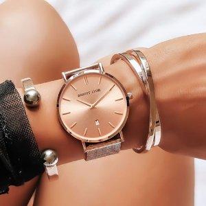 买1送1 重磅独家史低价:Abbott Lyon 英国系超美小众逼格首饰手表促销热卖
