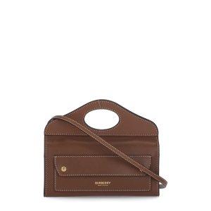 BurberryTopstitched Pocket Mini Clutch Bag