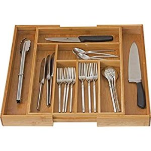 Amazon.com - Home-it Expandable use for, Utensil Flatware Dividers-Kitchen Drawer Organizer-Cutlery Holder -