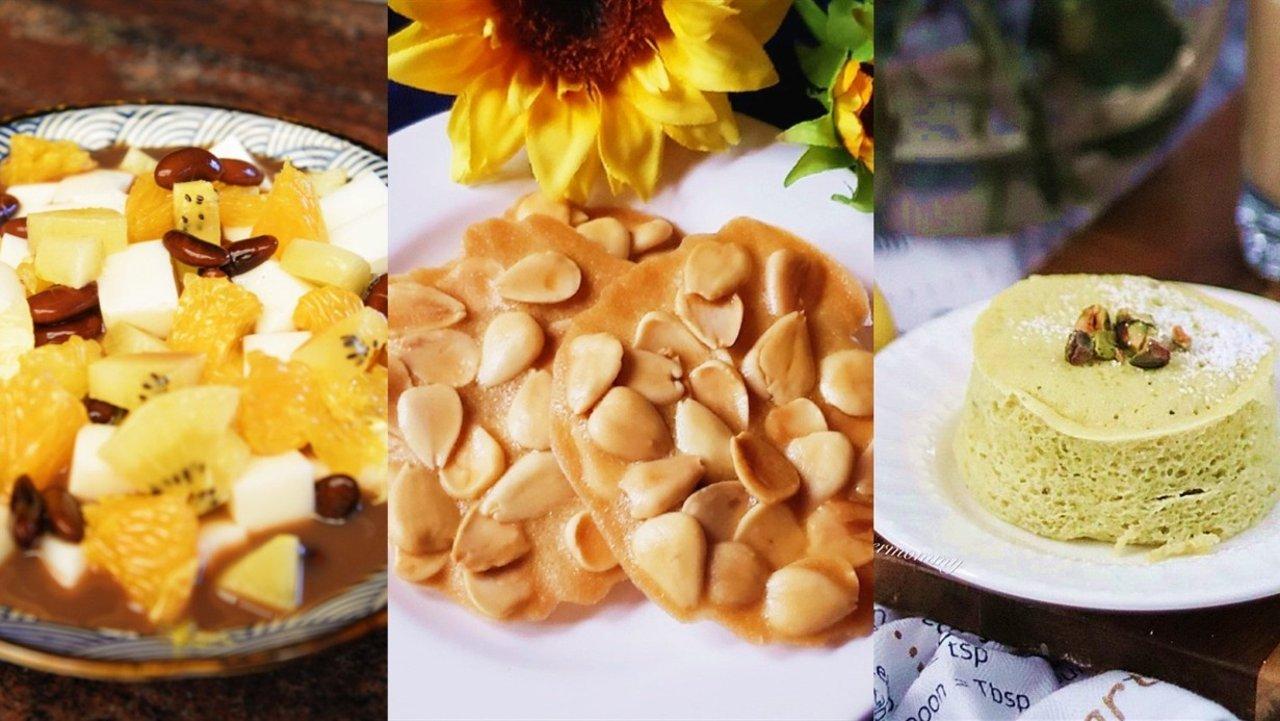 健康美味杏仁粉食谱| 杏仁粉可以做什么?自制杏仁粉蛋糕、杏仁粉松饼、杏仁瓦片、杏仁豆腐