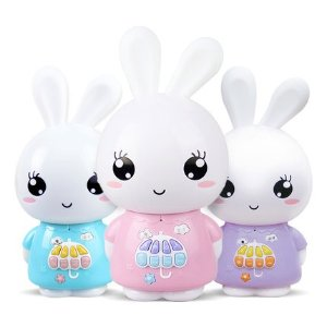 Bunny digital player for kids with LCD screen and remote control