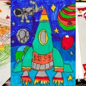 7套精美涂色本(电子版)美术宝1对1在线学画画