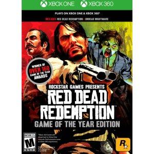 《荒野大镖客:救赎》年度游戏版 Xbox 360 / Xbox One