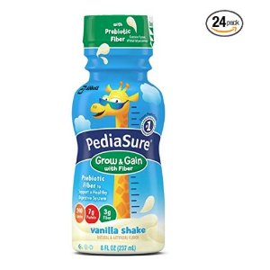 As Low As $29.97 PediaSure Grow & Gain Nutrition Shake For Kids, 8 fl oz (Pack of 24) @ Amazon