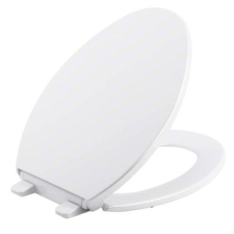 Kohler K-20110-0 Brevia Toilet Seat, White