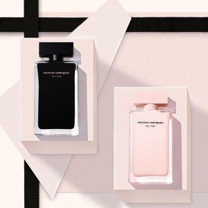 返$30+送4件套 时髦女人香Narciso Rodriguez 摩登纽约香氛 get李佳琦推荐黑瓶
