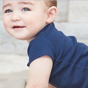 折扣升级:Carter's 新款有机棉全系列5折+满额7.5折Labor Day特卖