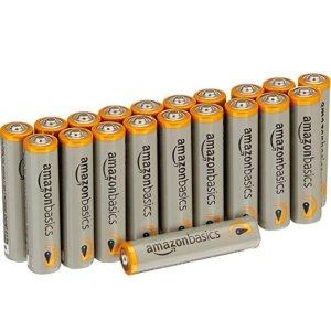 现价€6.64(原价€6.99)AmazonBasics AAA电池20节 特价 就跟不要钱一样