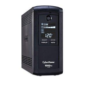 $74.5 (原价$109.95)CyberPower CP1000AVRLCD 智能不间断电源