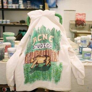 3折起 T恤$120起Acne Studio 全品类热卖 笑脸卫衣、毛衣开衫、logo围巾等