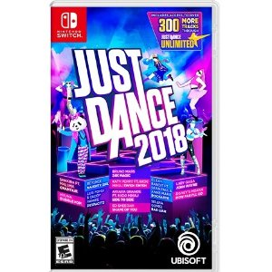 $15.99 收 Just Dance 2018Just Dance 2017 - 2019 Switch 数字版 新歌老歌 一网打尽