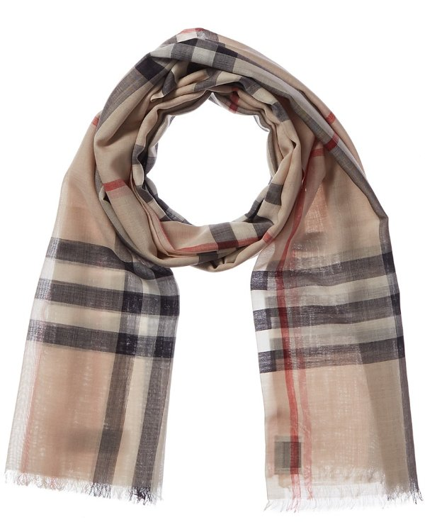Lightweight 格纹围巾