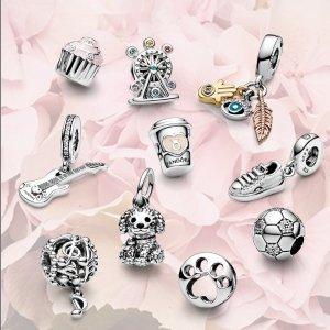 低至5折Pandora 超多精美串珠、戒指、项链、生日石系列热促