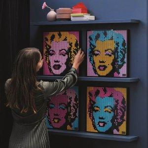 $120(官网$149.99) 3341颗史低价:LEGO 乐高  玛丽莲梦露31197 艺术生活系列 4合1