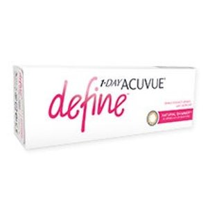 新用户89折1 Day ACUVUE Define 日抛美瞳 30片 亮棕色