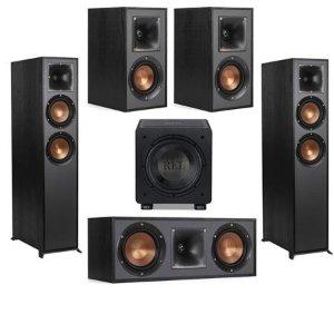 KlipschR-625FA 2个 + R-41M 2个 + R-52C + Rel Acoustics HT/1003套装