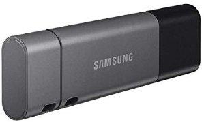 $29.99 (原价$44.99)Samsung Duo Plus 128GB 300MB/s Type-C+Type-A 闪存盘