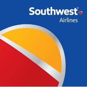 西南航空$200面值实体礼卡超值促销