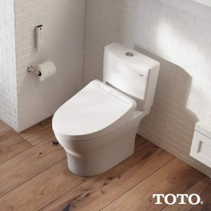 Groovy Toto K300 Washlet Electronic Bidet Seat Dealmoon Caraccident5 Cool Chair Designs And Ideas Caraccident5Info