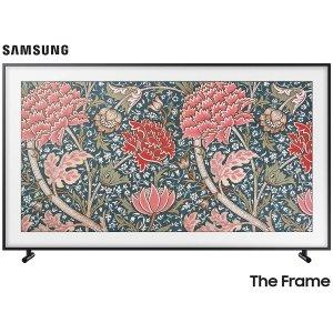 低至$797.99 送Google 智能设备Samsung Frame 画框 LS03 系列 QLED 4K 超清智能电视