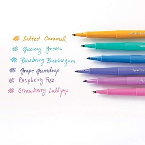 $8Paper Mate Flair Felt Tip Pens, Medium Point, Limited Edition Candy Pop Pack
