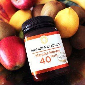 低至25折 最高可省£105收蜂蜜套装折扣升级:ManukaDoctor官网精选折扣区 健康养胃养颜必备