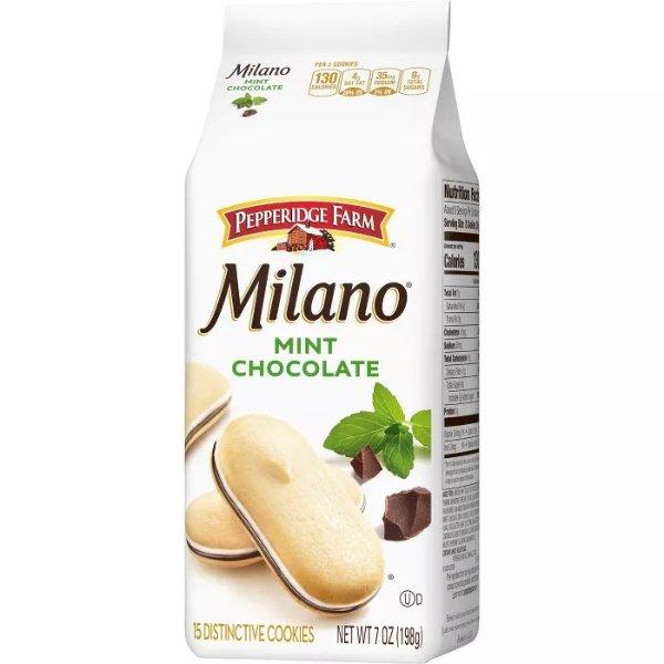 Milano 薄荷巧克力饼干 7.5oz