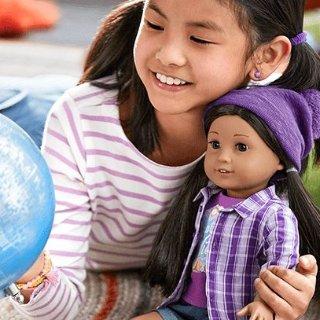 基础娃娃都参加 最高立减$40American Girl美国娃娃官网 多买多省,满额包邮