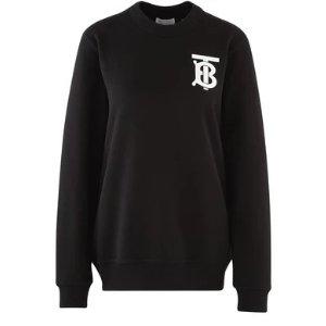 Burberry满额最高立减$436TB Logo卫衣