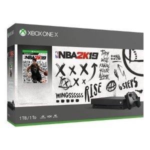 Xbox One X 1TB NBA 2K19 套装