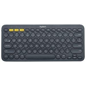 $38.99(原价$49.99)Logitech 罗技K380 多设备蓝牙键盘 打字机风格
