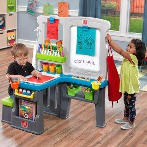 $74.99Step2 Great Creations Art Center Art Desk Easel