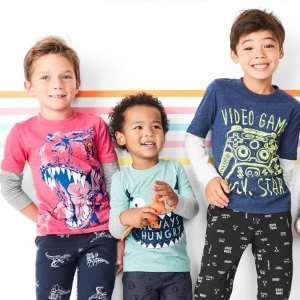 全部$5  从Baby到14岁一个价即将截止:Carter's童装官网 儿童T恤、长裤等低至2.5折特卖