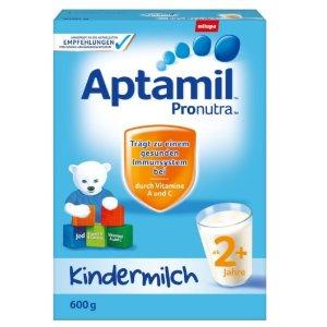 2件到手¥115Aptamil 儿童配方奶粉2+段 纸盒装 600g