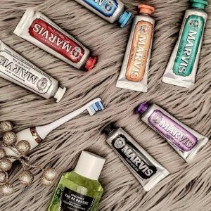Marvis Toothpaste Flavour Collection @ lookfantastic.com (US & CA)