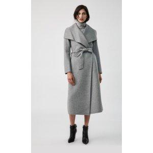 Mackage林志玲同款双面羊毛大衣