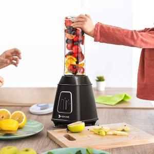 折后€28.19 还能磨咖啡豆Hosome 多功能榨汁机热促 果汁冰沙自己做 榨完直接带走喝